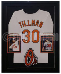 Tillman, Chris Framed Jersey