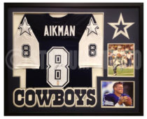 Aikman, Troy Framed Cowboys Jersey