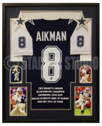 Aikman, Troy Framed Cowboys Jersey2
