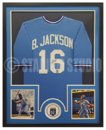 Jackson, Bo Framed Royals Jersey