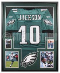 Jackson, Desean Framed Eagles Jersey