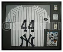 Reggie Jackson Framed Yankees Jersey