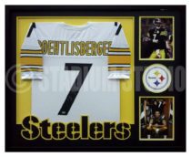 Roethlisberger, Ben Framed Steelers Jersey