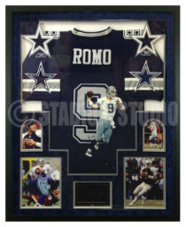 Romo, Tony Framed Cowboys Jersey