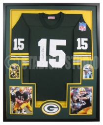 Starr, Bart Framed Packers Jersey