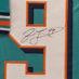 Taylor, Jason Framed Dolphins Jersey_Number