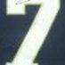 Theismann, Joe Framed Notre Dame Jersey_Number
