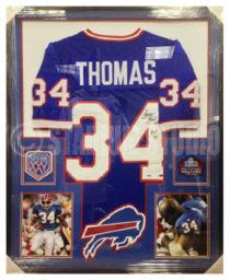 Thomas, Thurman Framed Bills Jersey