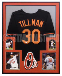 Tillman, Chris Framed Orioles Jersey